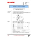 Sharp AR-407 (serv.man74) Technical Bulletin