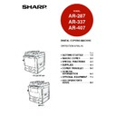 Sharp AR-407 (serv.man8) User Guide / Operation Manual