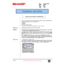 Sharp AR-407 (serv.man82) Technical Bulletin