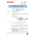 Sharp AR-CS1 (serv.man7) Technical Bulletin