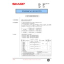 Sharp AR-DE7 (serv.man5) Technical Bulletin