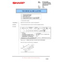 Sharp AR-F200 (serv.man10) Technical Bulletin