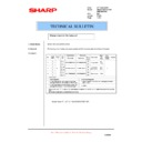 Sharp AR-F200 (serv.man11) Technical Bulletin