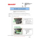 Sharp AR-F200 (serv.man12) Technical Bulletin