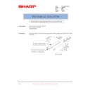 Sharp AR-F200 (serv.man15) Technical Bulletin