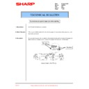 Sharp AR-F200 (serv.man17) Technical Bulletin