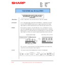 Sharp AR-F200 (serv.man18) Technical Bulletin