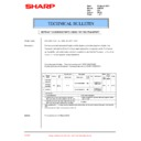 Sharp AR-F200 (serv.man20) Technical Bulletin