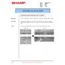 Sharp AR-F200 (serv.man21) Technical Bulletin