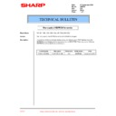 Sharp AR-F200 (serv.man23) Technical Bulletin