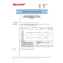 Sharp AR-F200 (serv.man25) Technical Bulletin