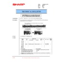 Sharp AR-F200 (serv.man26) Technical Bulletin