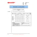 Sharp AR-F200 (serv.man30) Technical Bulletin