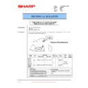 Sharp AR-F200 (serv.man31) Technical Bulletin