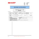 Sharp AR-F200 (serv.man33) Technical Bulletin