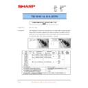 Sharp AR-F200 (serv.man35) Technical Bulletin