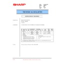 Sharp AR-F200 (serv.man37) Technical Bulletin