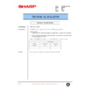 Sharp AR-F200 (serv.man43) Technical Bulletin