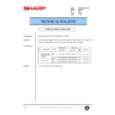 Sharp AR-F200 (serv.man44) Technical Bulletin