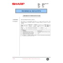 Sharp AR-F200 (serv.man46) Technical Bulletin