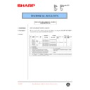 Sharp AR-F200 (serv.man48) Technical Bulletin