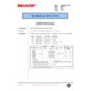 Sharp AR-F200 (serv.man50) Technical Bulletin