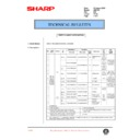 Sharp AR-F200 (serv.man51) Technical Bulletin