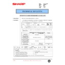 Sharp AR-F200 (serv.man54) Technical Bulletin