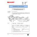 Sharp AR-F200 (serv.man56) Technical Bulletin