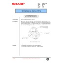 Sharp AR-F200 (serv.man58) Technical Bulletin