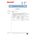 Sharp AR-F200 (serv.man59) Technical Bulletin