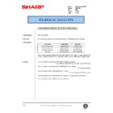 Sharp AR-F200 (serv.man60) Technical Bulletin
