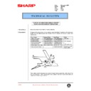 Sharp AR-F200 (serv.man61) Technical Bulletin