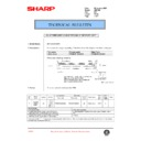 Sharp AR-F200 (serv.man63) Technical Bulletin
