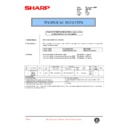 Sharp AR-F200 (serv.man64) Technical Bulletin