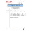 Sharp AR-F200 (serv.man65) Technical Bulletin