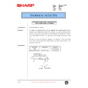 Sharp AR-F200 (serv.man66) Technical Bulletin
