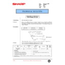 Sharp AR-F200 (serv.man67) Technical Bulletin