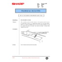 Sharp AR-F200 (serv.man68) Technical Bulletin