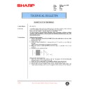 Sharp AR-F200 (serv.man69) Technical Bulletin