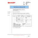 Sharp AR-F200 (serv.man7) Technical Bulletin