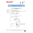 Sharp AR-F200 (serv.man70) Technical Bulletin