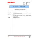 Sharp AR-F200 (serv.man72) Technical Bulletin