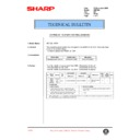 Sharp AR-F200 (serv.man73) Technical Bulletin