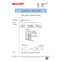 Sharp AR-F200 (serv.man74) Technical Bulletin