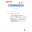 Sharp AR-F200 (serv.man75) Technical Bulletin
