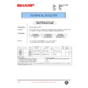 Sharp AR-F200 (serv.man76) Technical Bulletin