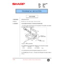 Sharp AR-F200 (serv.man77) Technical Bulletin
