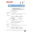 Sharp AR-F200 (serv.man78) Technical Bulletin