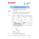 Sharp AR-F200 (serv.man8) Technical Bulletin